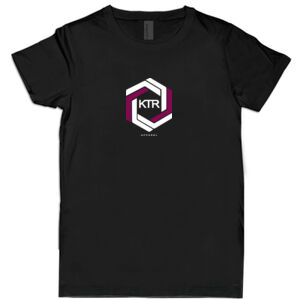 KTR Kids Black T-Shirt, DT Maroon Thumbnail